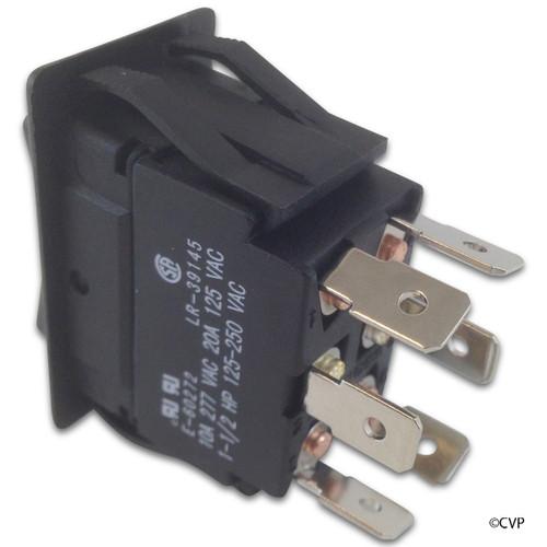 Generic | Rocker Switch, DPDT Center Off | 60-555-1606