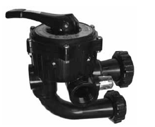 "HAYWARD | 1 1/2"" SIDE MOUNT  USED ON 2-PIECE S-200 & S-240 SAND FILTERS 5"" SPACING ON PIPES CENTER LINE 