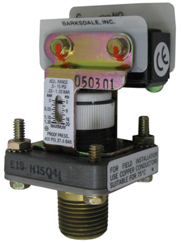 JANDY | PRESSURE SWITCH, 1-10 PSI | R0045400
