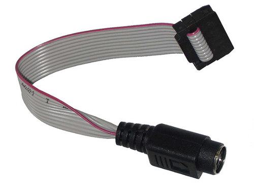 LIGHT PART: ADAPTER MINI DIN WITH RIBBON CABLE | 6000-362