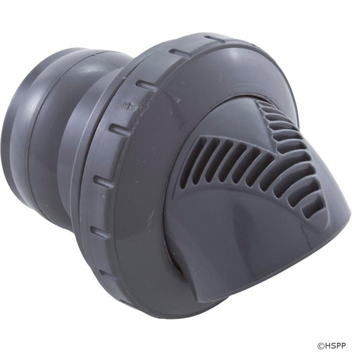 "Inlet Fitting, Infusion Venturi, 1-1/2"" Insider Gluelss, DkGry VRFSASDG"