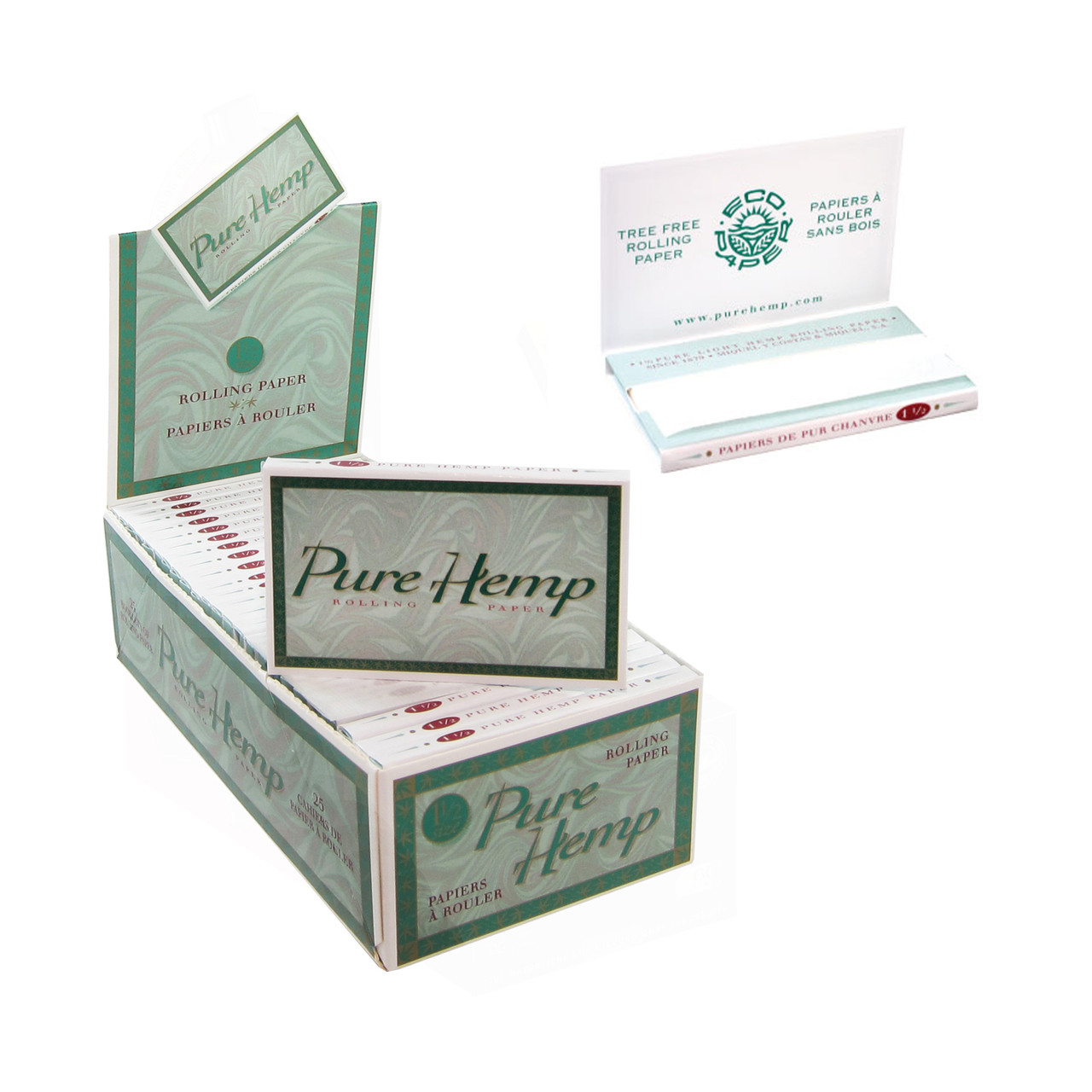 Pure Hemp Classic Rolling Papers