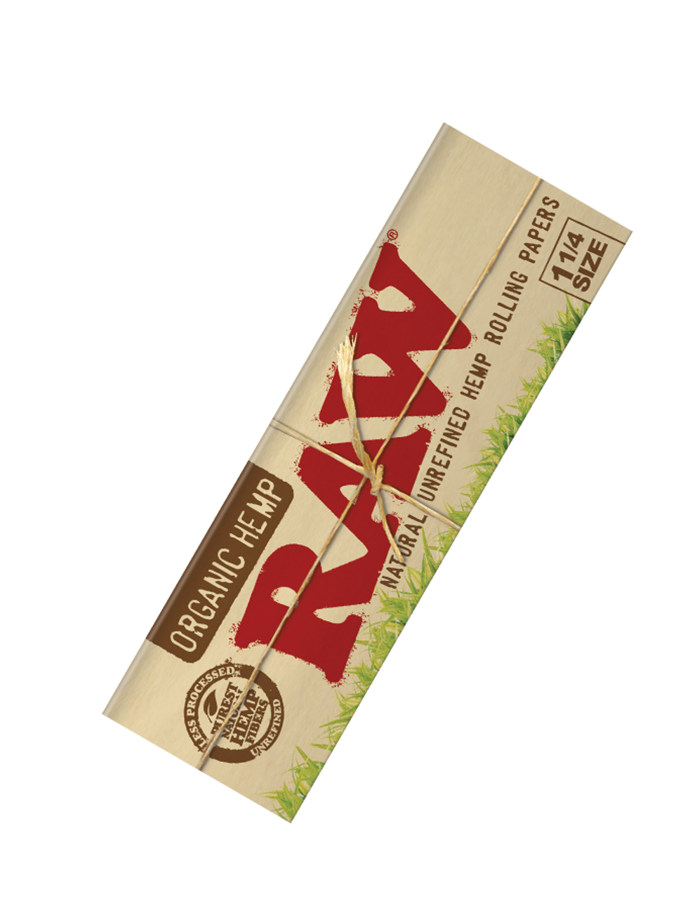 Raw Organic Hemp Rolling Papers 1 1/4 (Display of 24)
