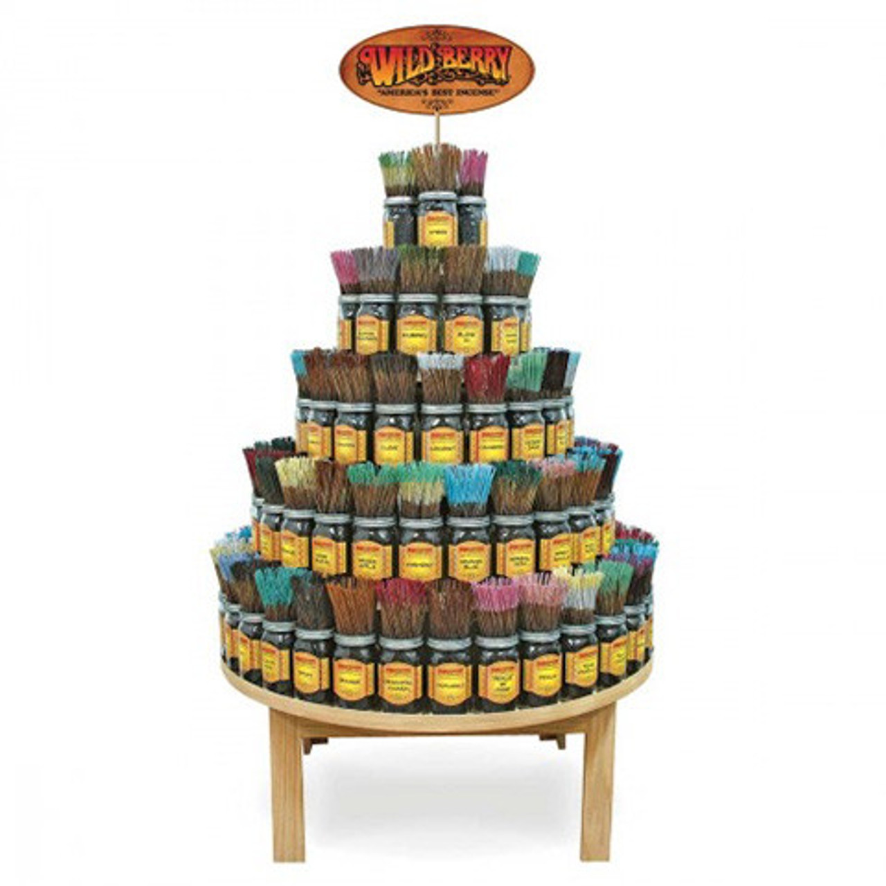 Wild Berry® Large Round Incense Starter Kit - 90 Scents