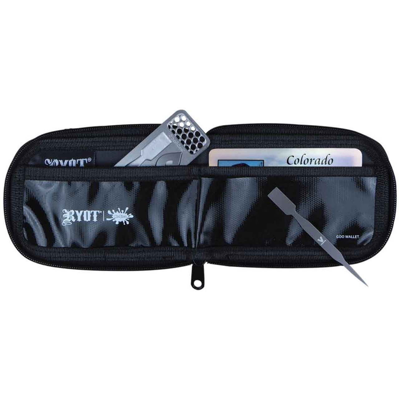 RYOT SmellSafe Wallet with NoGoo Assorted Six-Pack (2ea color)