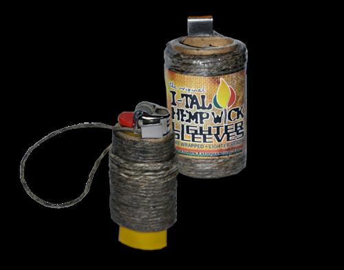 I-TAL Hemp Wick Lighter Sleeves - 24/case