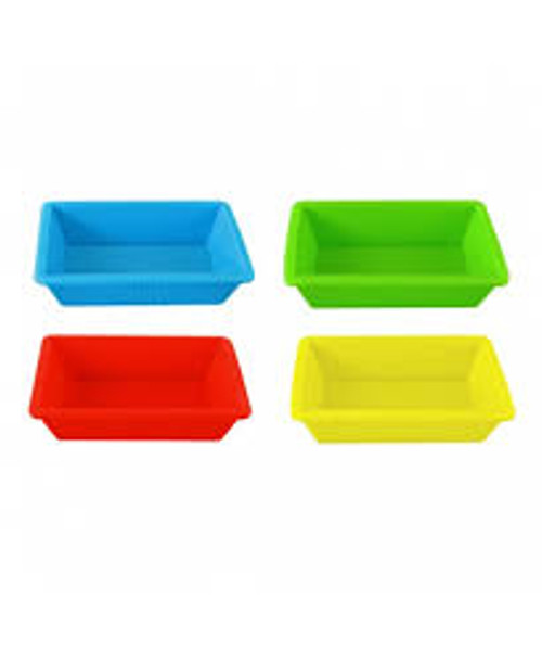 NoGoo 3 x 2.25 Silicone Container - Red