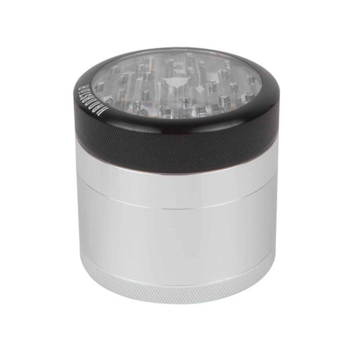 Kannastör 4pc Multi Chamber Grinder w/ Clear Top