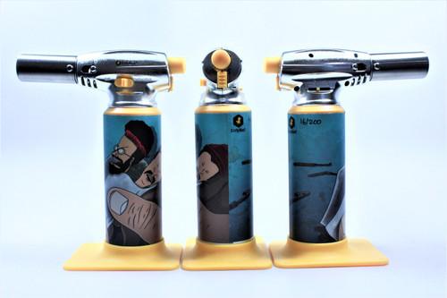 Errly Bird Torch Art - Beavis and Butthead by Jason Williams