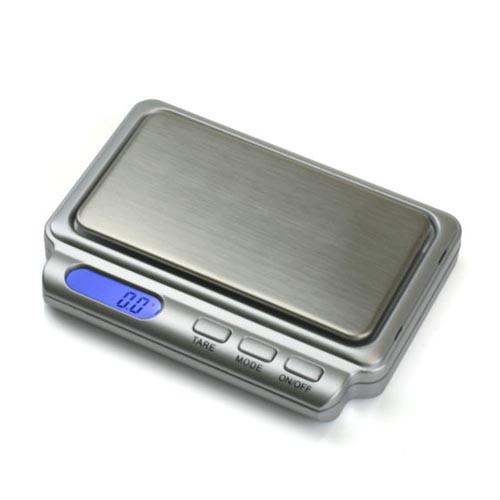 AWS Digital Pocket Scale CARD-V2-600 (600g x 0.1g) - Silver