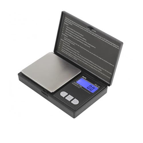 AWS Digital Scale MAX-700 (700g x 0.1g) Flip-Open Cover - Black