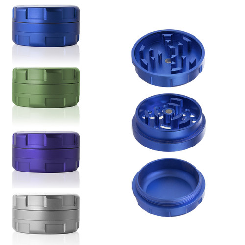 "1.25"" GRAV® 3-Piece Grinder - Colors"