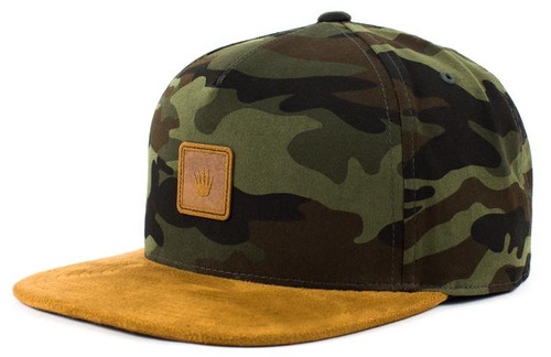 No Bad Ideas - Snapback Cap - Hendrix - Camo/Wheat