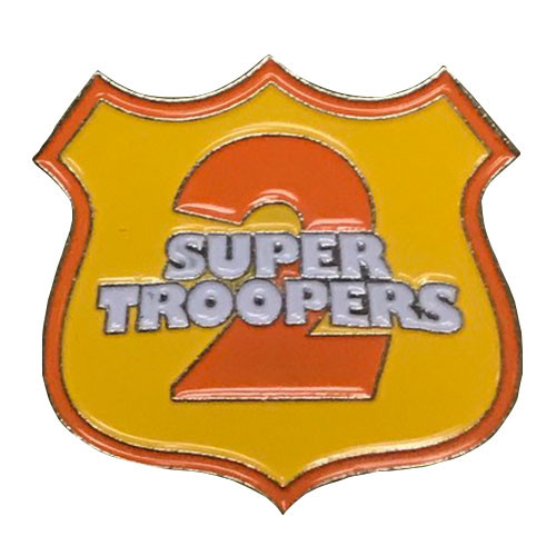 Herbivore Hat Pins - Super Troopers Shield