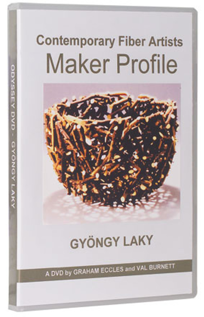 Contemporary American Fiber Artists:  Maker Profile: Gyöngy Laky