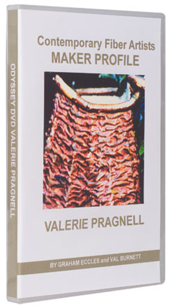Contemporary Fiber Artists Maker Profile: Valerie Pragnell