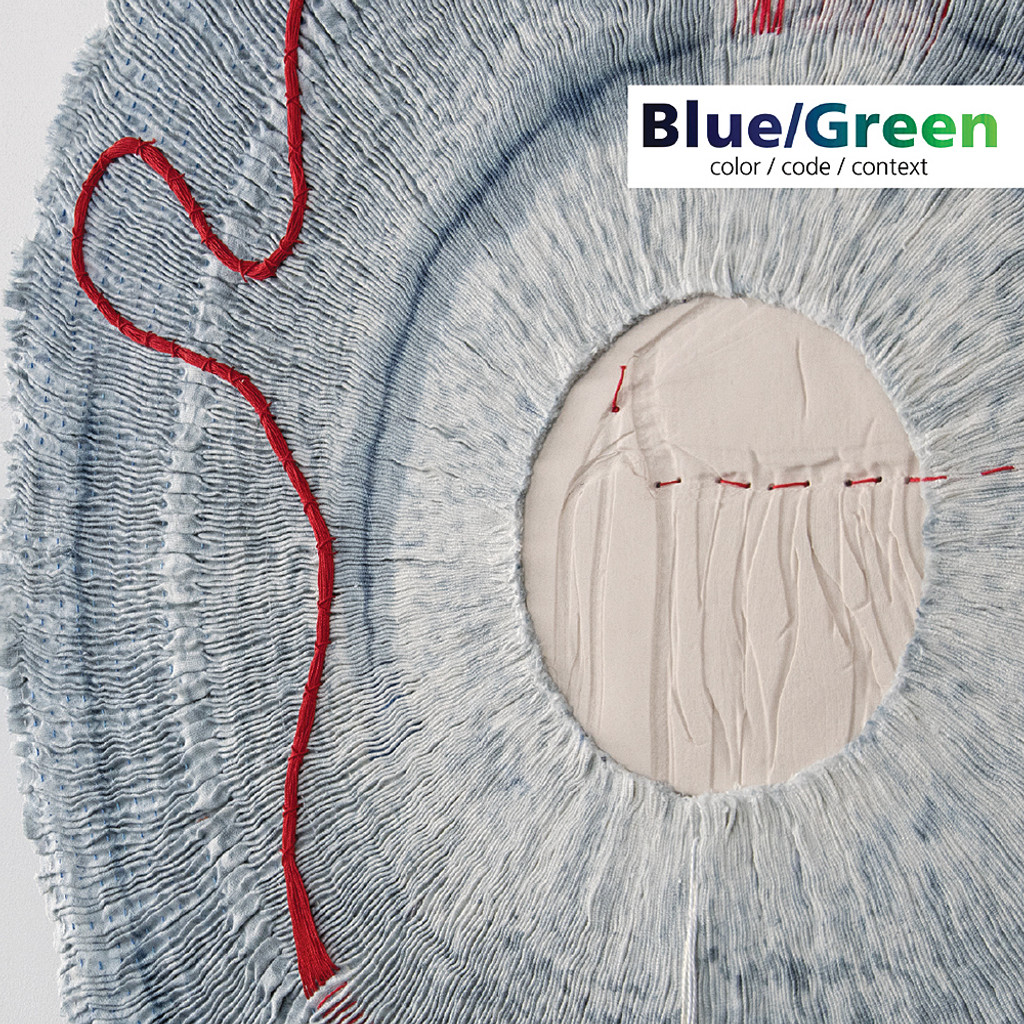Blue/Green: color/code/context