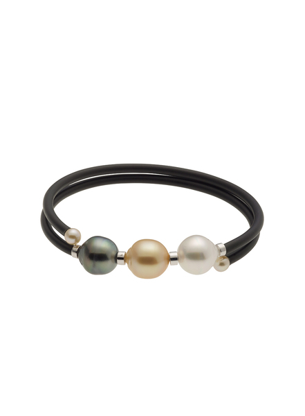 Mutli-Colored South Sea Cultured Pearl Bracelet