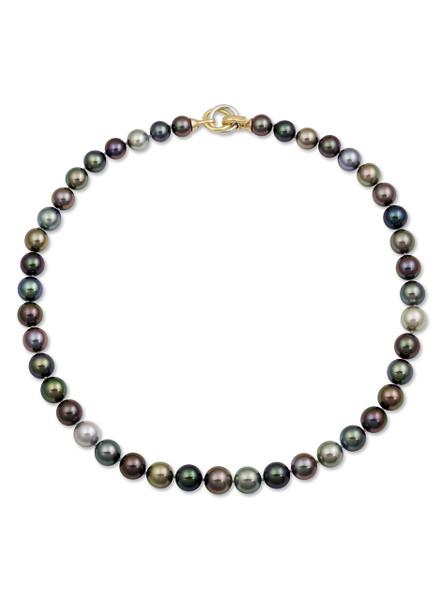 Tahitian Multicolor Pearl Necklace