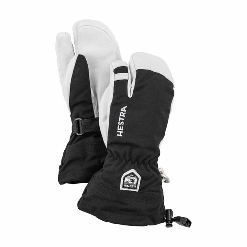 Hestra Army Leather Heli Ski Jr 3 Finger Glove