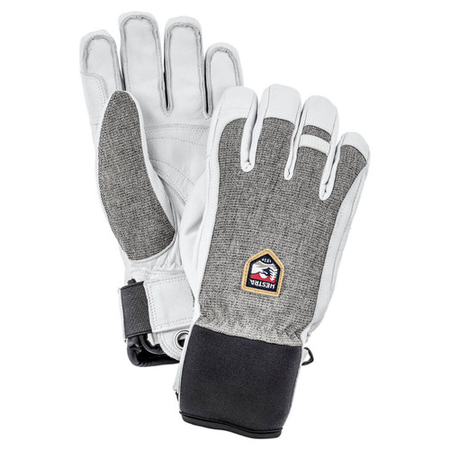 Hestra Army Leather Patrol Glove - Light Grey