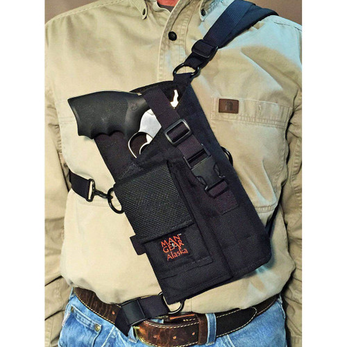Man Gear Alaska MGP6-P Revolver Chest Holster