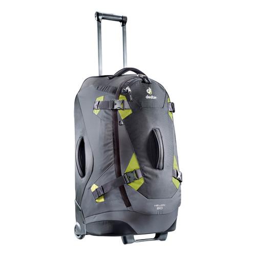 Deuter Helion 80 Travel Bag - Black/Moss