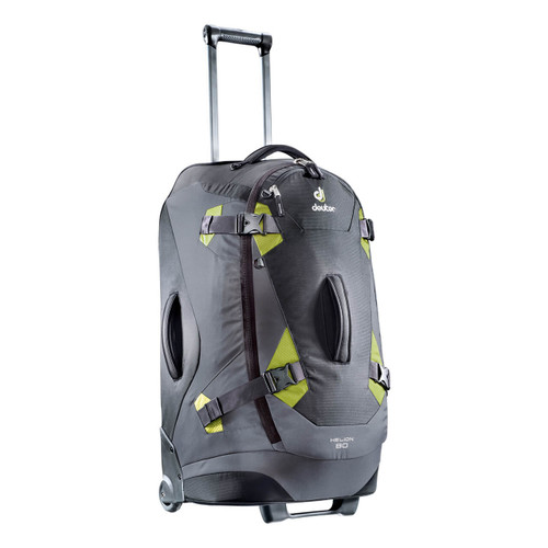 Deuter Helion 80 Travel Bag - Black/Moss