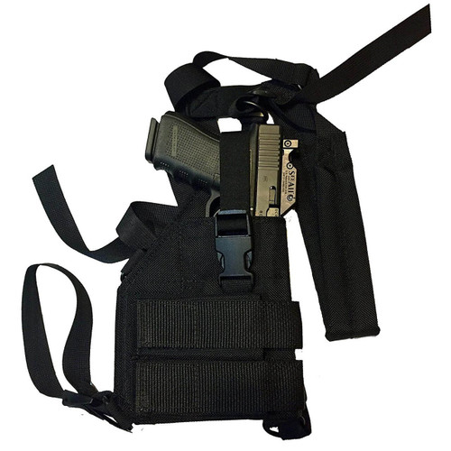 Man Gear Alaska Gen2 Large Auto Chest Holster - MOS Cut