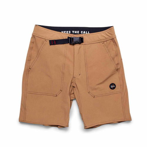 Tamarin Tech Shorts - Fossil Tan