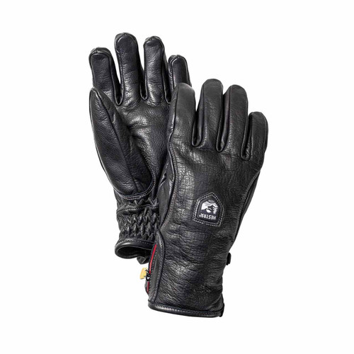 Hestra Furano Swisswool Leather Glove - Black
