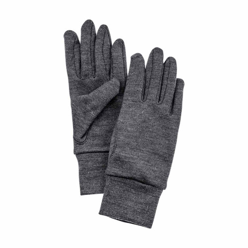 Hestra Heavy Merino Wool Glove Liner - Grey