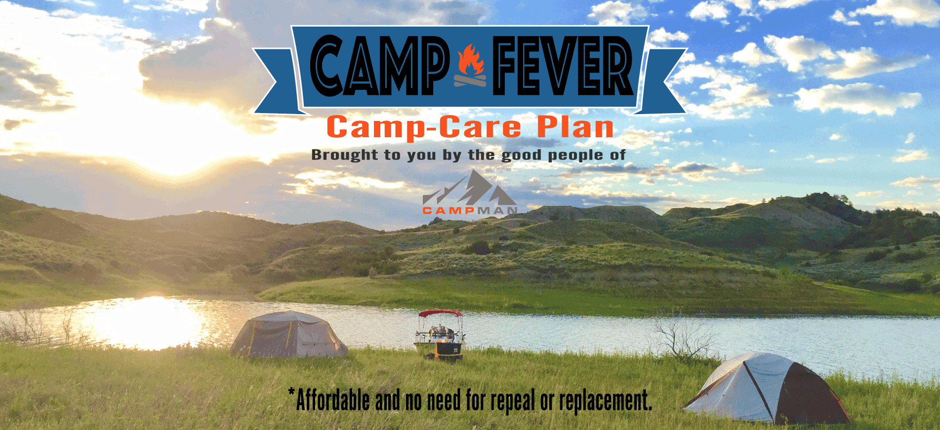 The 2017 Camp Care Plan  - Get Your Coverage Today!