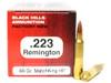Surplus Ammo   Surplusammo.com .223 69 Grain Sierra MatchKing HP-BT Black Hills - 50 Rounds, NEW Red Box BHD223N12