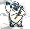 Surplus Ammo   Surplusammo.com Bumble The Abominable Snow Monster Morale Patch