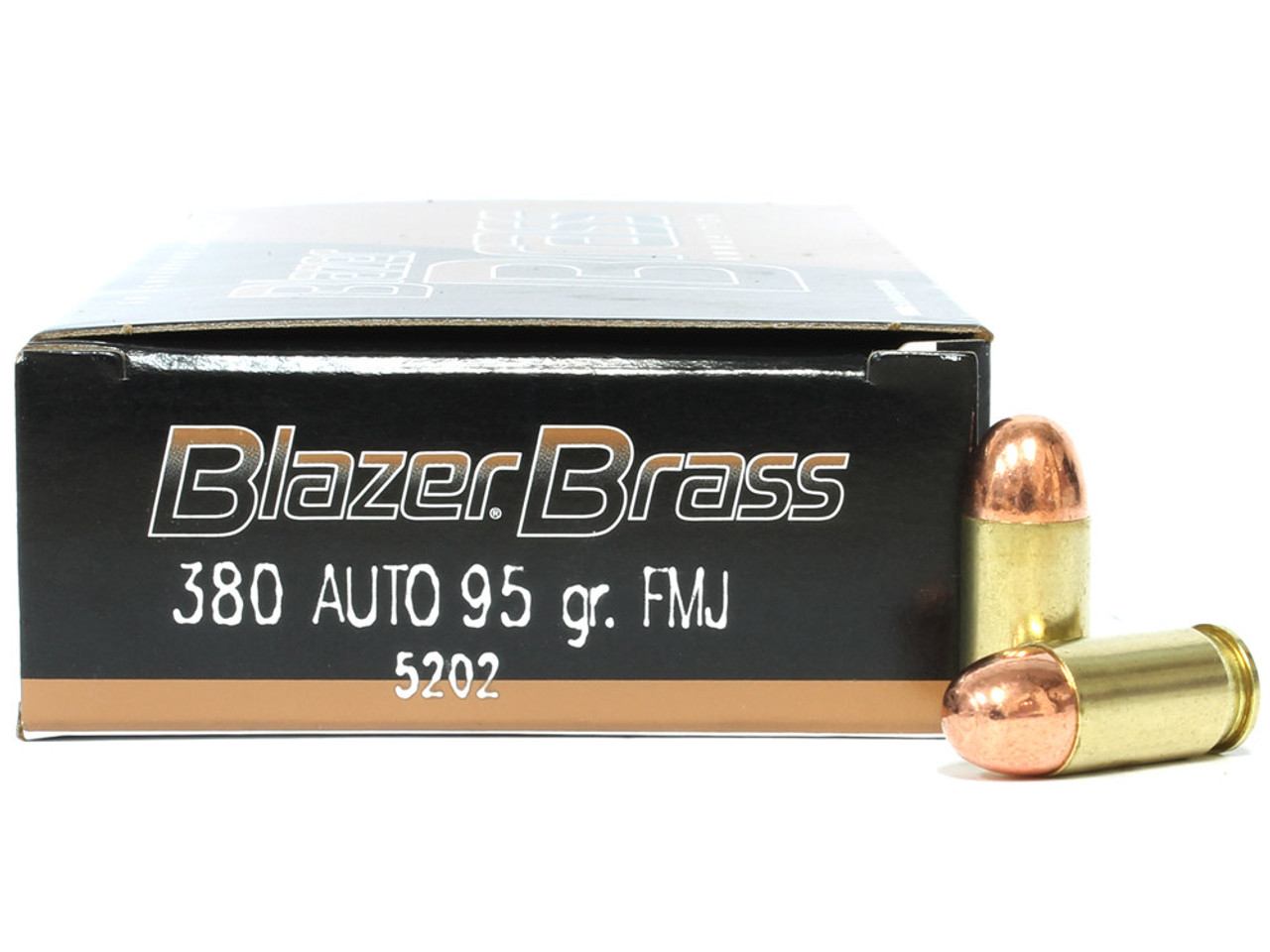 380 acp 95 grain full metal jacket cci blazer brass for sale in