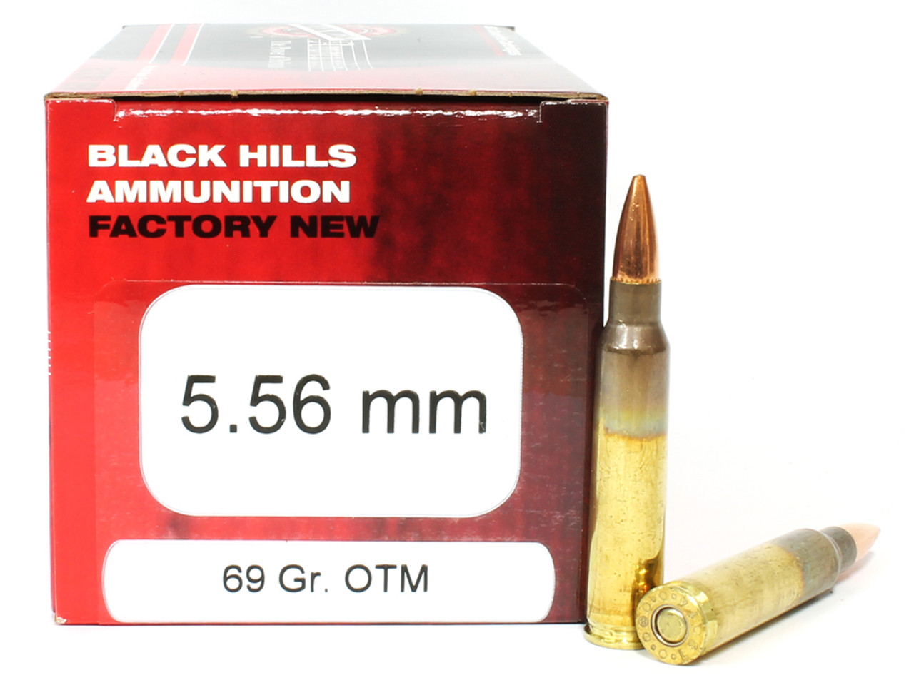 black hills ammunition 5 56 nato 69 grain sierra open tip match