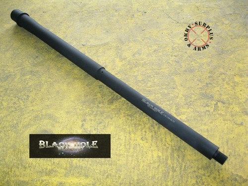 "Black Hole Weaponry AR-15 18"" Mid-Length Stainless Steel 5 ..."