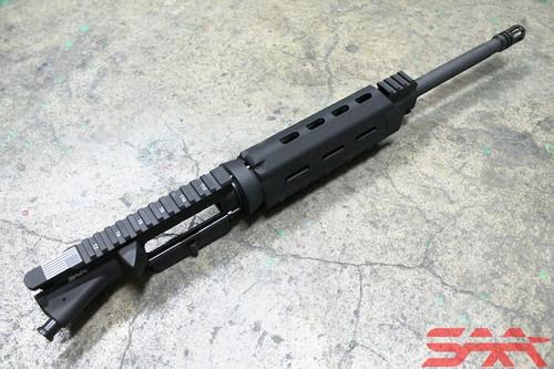 """Surplusammo.com SAA 5.56 16"""" 1:9 M4 AR-15 Upper Receiver MOE, No BCG, CH, Same Plane Upper Height Railed Gas Block  (1516SM9C1CMCA)"""