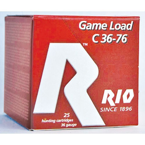 ".410 Gauge Rio 3"" #4 Heavy Field Game Load - 25 Rounds"
