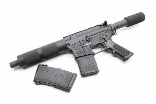 Surplusammo.com | Surplus Ammo SAA Dragon's Head Complete AR-15 Pistol  5.56, Phosphate BCG, 2 Magpul Gen 3 Pmags, & Magpul ASAP Sling Attachment SAA-DHP1