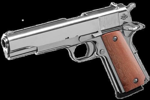 Surplus Ammo, Surplusammo.com  Rock Island Armory .45 ACP 1911 GI Standard FS Nickel - Pistol 51433 Full Size Frame