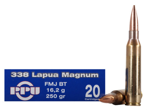 Surplus Ammo, Surplusammo.com 338 Lap Mag 250 Grain FMJ Prvi Partizan PPU Ammunition