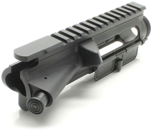 SAA Billet AR15 Stripped Assembled Flat Top Upper Receiver - No Mark SAAUP039