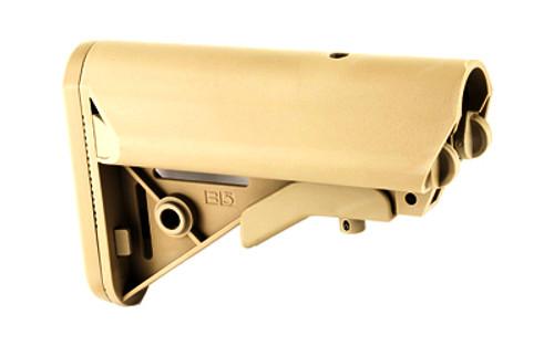 Surplus Ammo   Surplusammo.com B5 Systems SOPMOD Butt-Stock Mil-Spec with Quick Detach Mount - FDE  (SOPMOD-FDE)