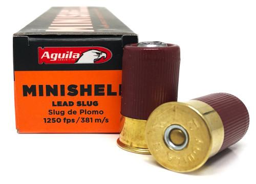 """12 Gauge Aguila 1 3/4"""" MiniShell Slug AGA1C128974"""