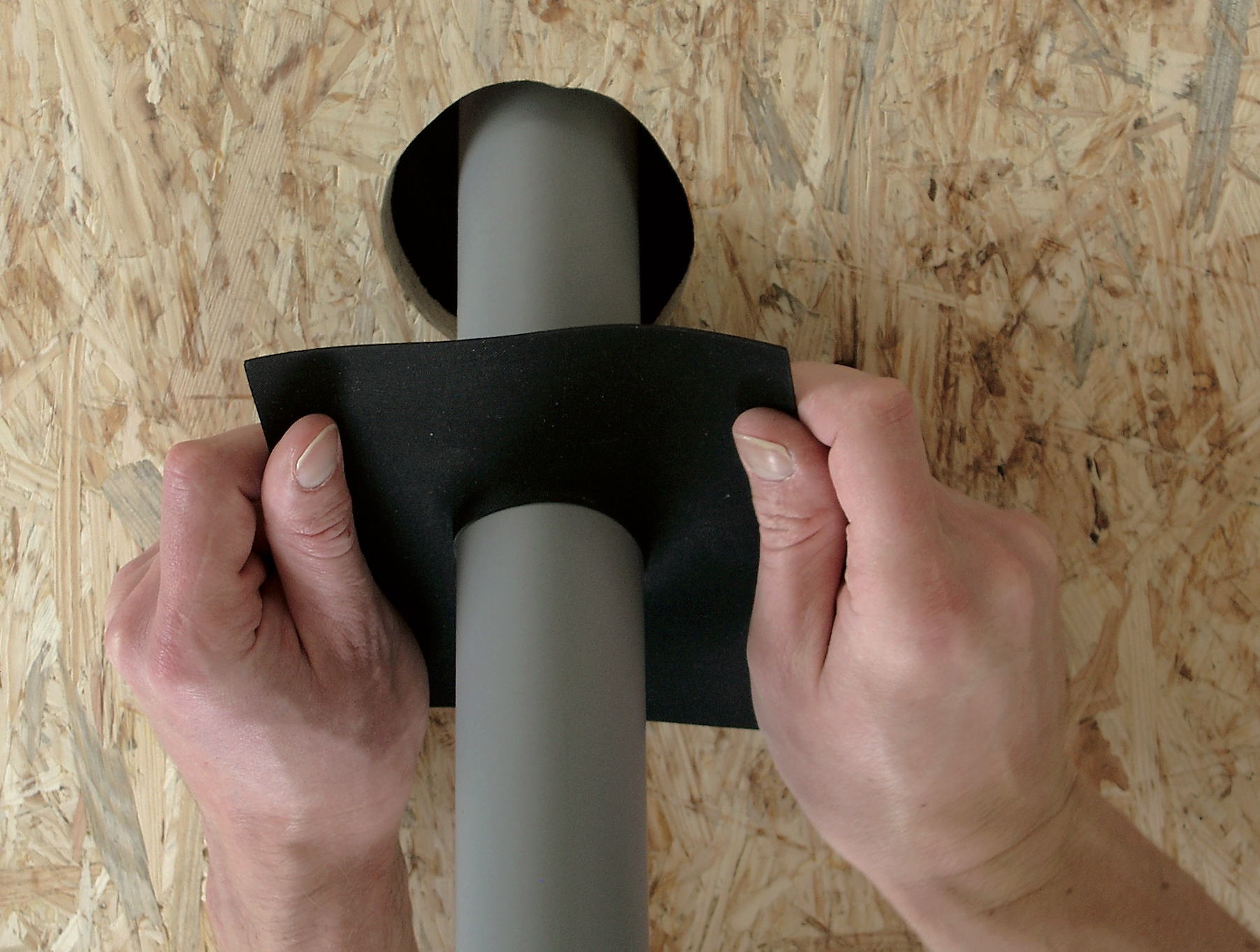 5 Steps For Sealing Intentional Holes in Your Air Barrier