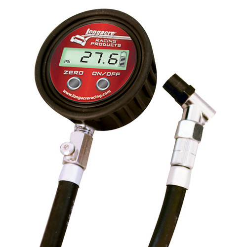 Digital Tire Gauge 0-60 PSI with Angle Chuck — 50394