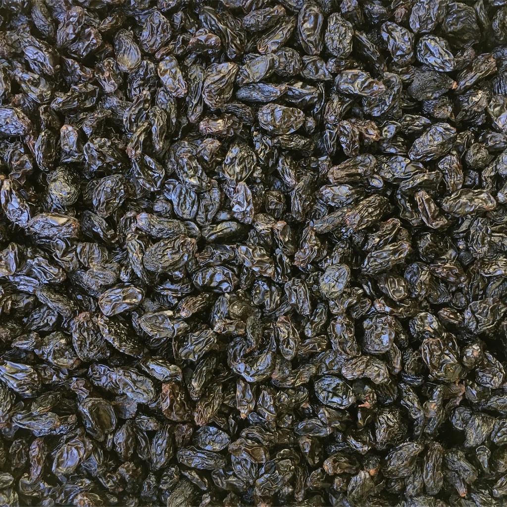 ORGANIC RAISINS, Autumn Royal, Jumbo Black, seedless, oil free