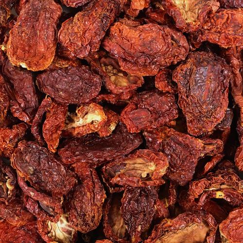 ORGANIC TOMATOES, sun dried,salted